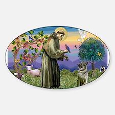 St Francis / Nor Elk Sticker (Oval)