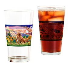 Autumn Angel & Nova Scotia... Drinking Glass