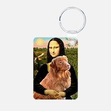 Mona's Nova....Retriever Keychains