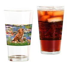 Lilies (2) & Nova Scotia..... Drinking Glass