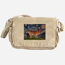 Starry Night Nova Scotia..... Messenger Bag
