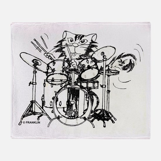 WILDCAT DRUMMER™ Throw Blanket