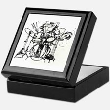 WILDCAT DRUMMER™ Keepsake Box