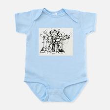 WILDCAT DRUMMER™ Infant Bodysuit