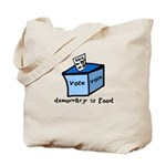 Occupy Wall Street Democracy Tote Bag