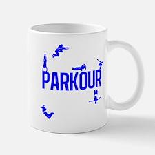Parkour Crew (Blue) Mug
