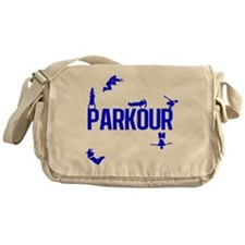 Parkour Crew (Blue) Messenger Bag