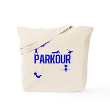 Parkour Crew (Blue) Tote Bag