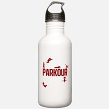 Parkour Crew (Red) Water Bottle