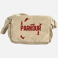 Parkour Crew (Red) Messenger Bag