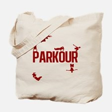 Parkour Crew (Red) Tote Bag