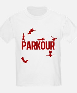 Parkour Crew (Red) T-Shirt
