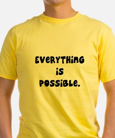 everything is possible T