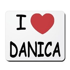 I heart Danica Mousepad