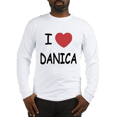 I heart Danica Long Sleeve T-Shirt