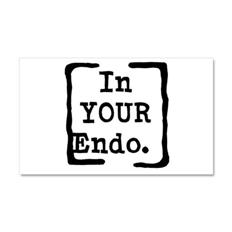In Your Endo Car Magnet 20 x 12