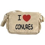 I heart conures Messenger Bag