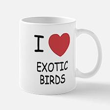 I heart exotic birds Mug