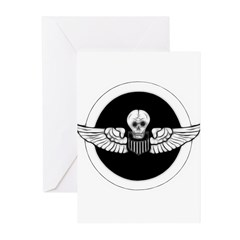 Skull and Wings Greeting Cards (Pk of 20)