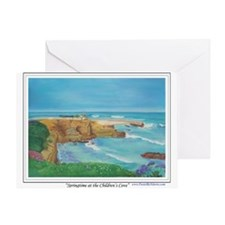 Springtime at the Children's Greeting Card