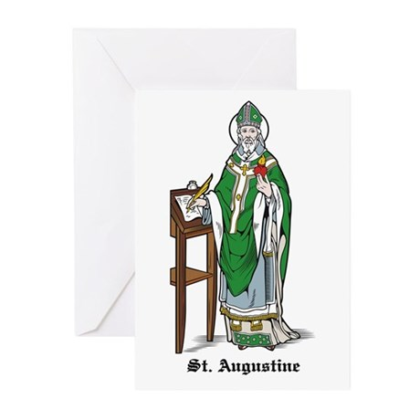 St. Augustine Greeting Cards (Pk of 10)