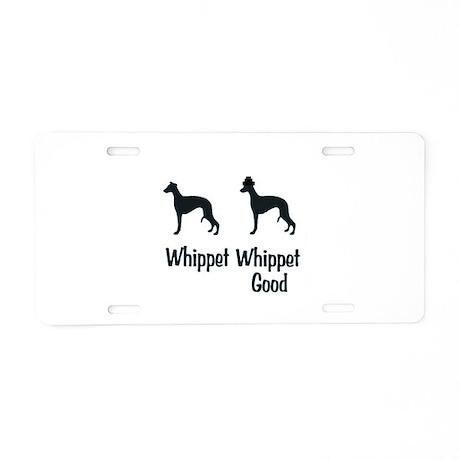Whippet Good Aluminum License Plate