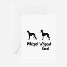 Whippet Good Greeting Card