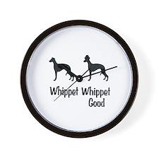 Whippet Good Wall Clock