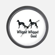 Whippet Good Wall Clock
