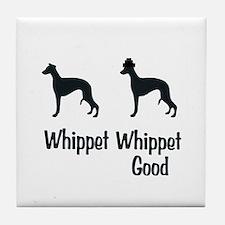 Whippet Good Tile Coaster