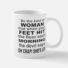 Oh Crap Devil Mug