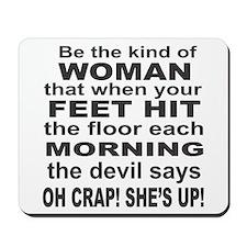 Oh Crap Devil Mousepad