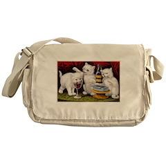 The Three Kittens Messenger Bag