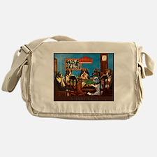 A friend in need Poker Messenger Bag
