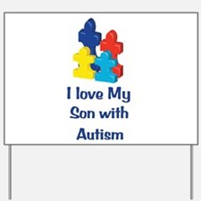 Love Autism Son Yard Sign