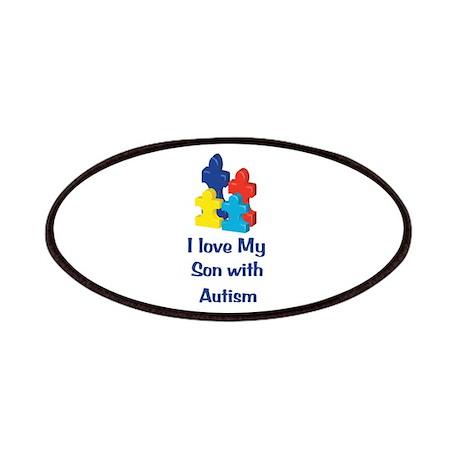 Love Autism Son Patches