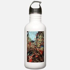 French Flags by Monet Water Bottle