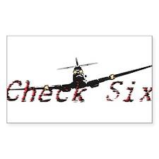 Check Six Decal