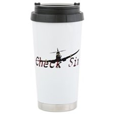 Check Six Travel Mug