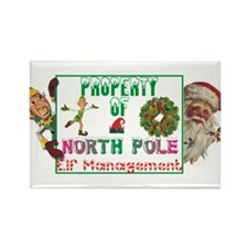 Property of North Pole Rectangle Magnet