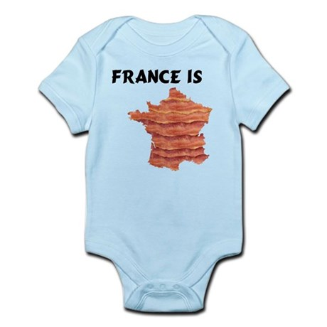 France is Bacon. Knowledge is Infant Bodysuit