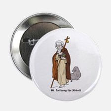"""St. Anthony 2.25"""" Button (10 pack)"""