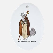 St. Anthony Oval Ornament