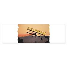 Stearman Bumper Sticker