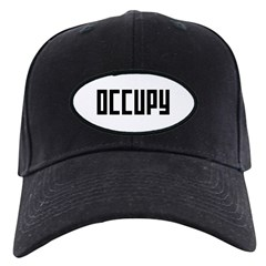 occupy rectangle Baseball Hat