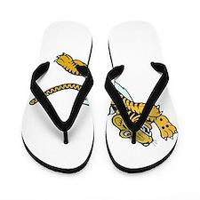Flying Tiger Flip Flops