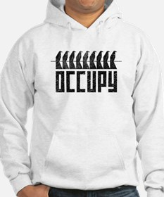OCCUPY birds-on-wire Hoodie