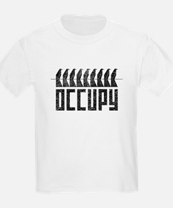 OCCUPY birds-on-wire T-Shirt