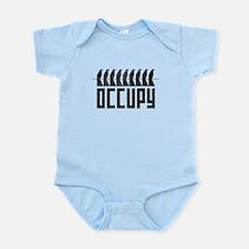 OCCUPY birds-on-wire Infant Bodysuit