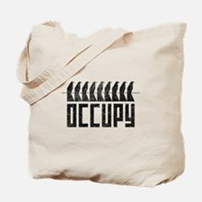 OCCUPY birds-on-wire Tote Bag